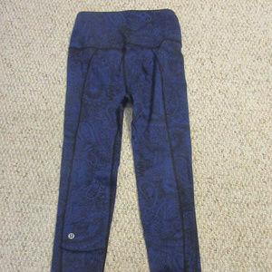 Lululemon Intentions Pant - Nouveau Blue - Sz 2